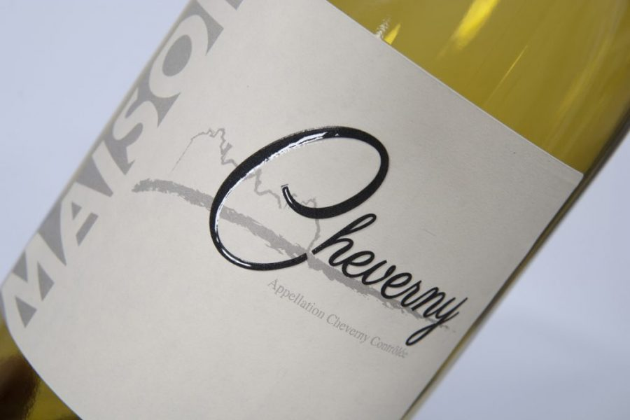 Impression étiquettes relief noir vins