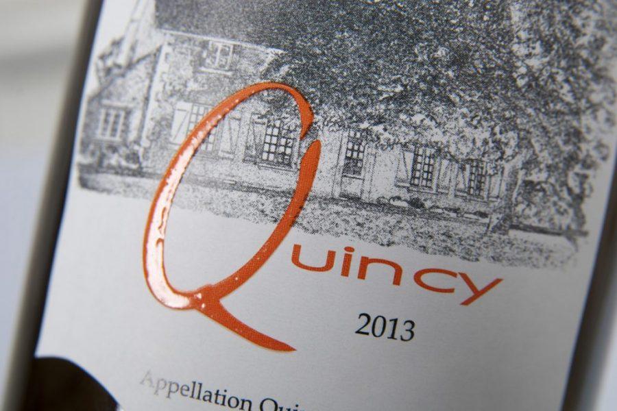 Impression étiquettes relief vins Quincy