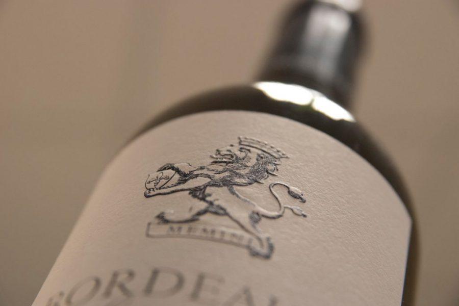 Impression étiquettes vins
