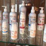 Etiquettes pour produit cosmétique