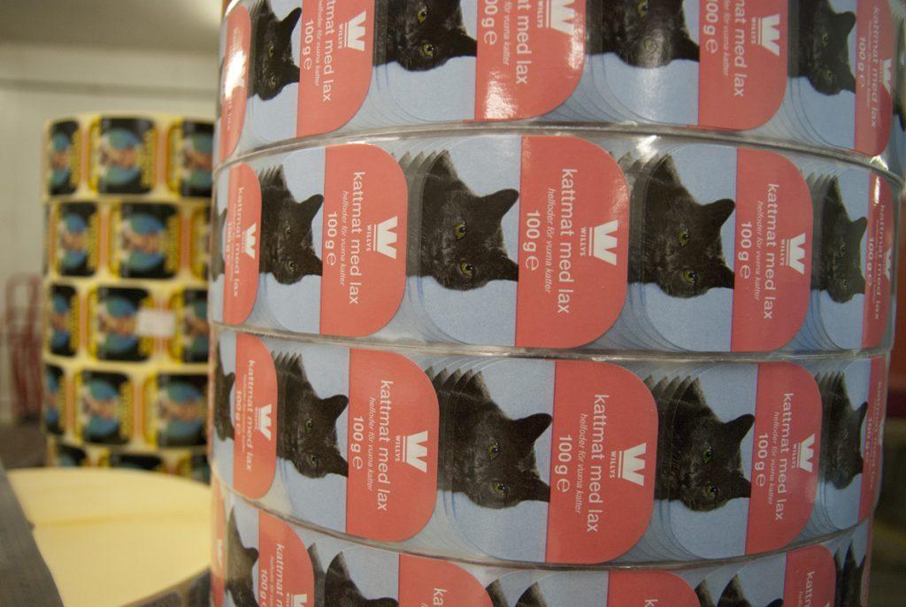 Impression étiquettes aliments animaux