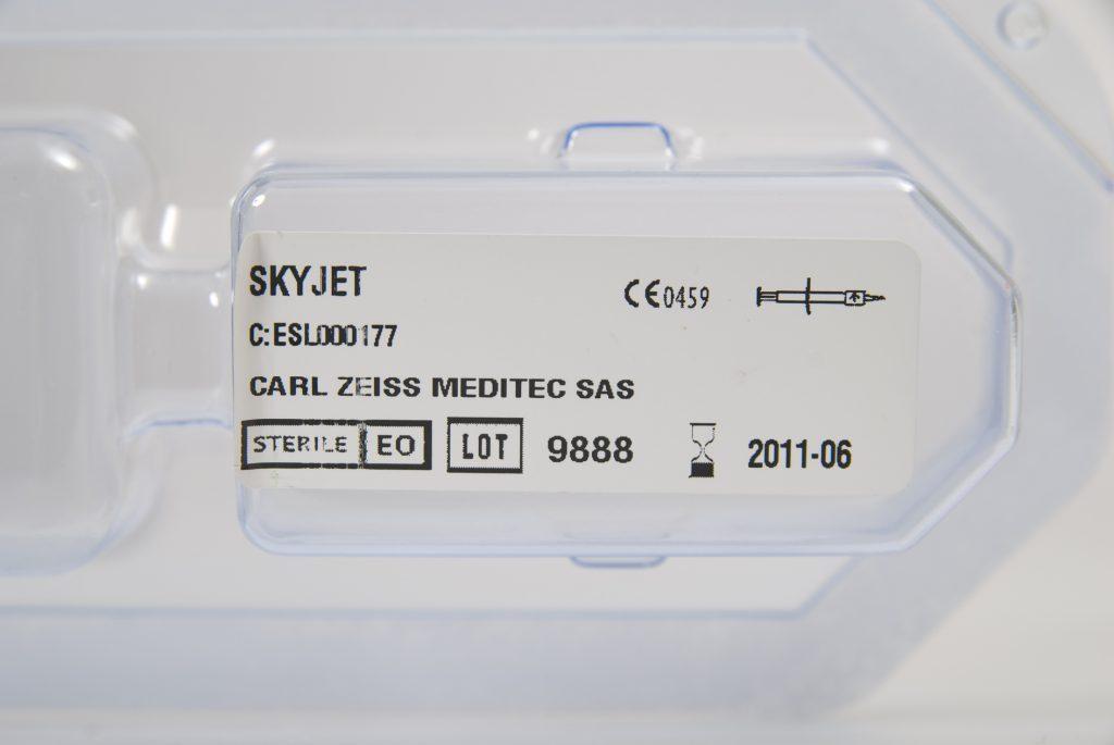 Impression d'étiquettes pour du matériel médical