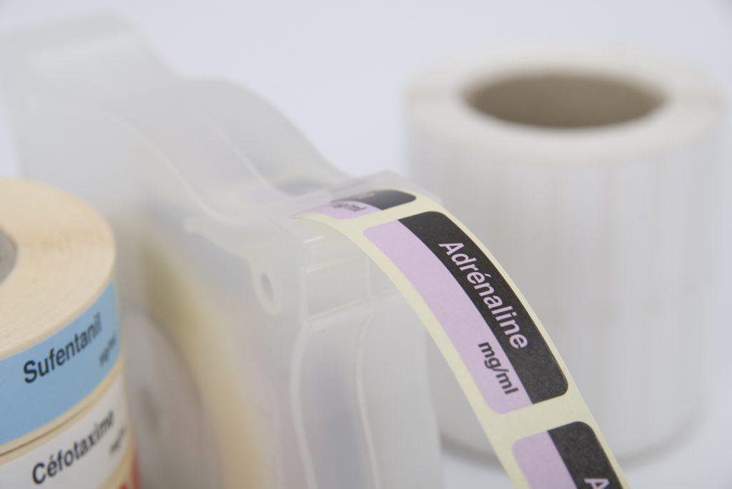 Imprimeur d'étiquettes pour les médicaments