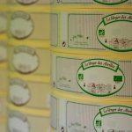 Impression étiquettes produits bio